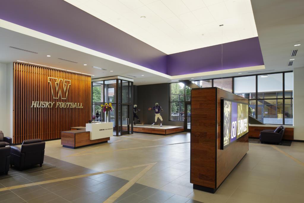 The University of Washington's Husky Stadium Interior